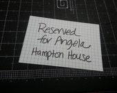 Reserved Listing - Angela (Hampton House)
