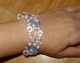 Wedding Bracelet Bride or Bridesmaid Swarovski