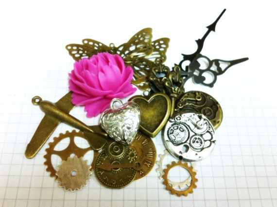 Steampunk Supply Lot Charm Pack 2