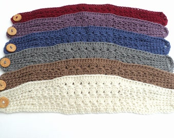 Crochet PATTERN - Star Stitch Wide Headband Pattern (Adult and Children sizes)