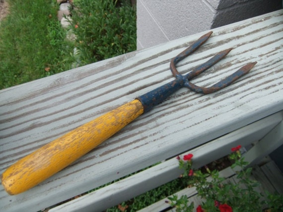 Vintage Gardening Fork Tool