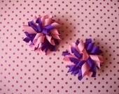 Girly Girl Mini Korker Bow Set