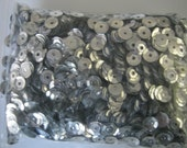 Silver Sequins - Large Lot