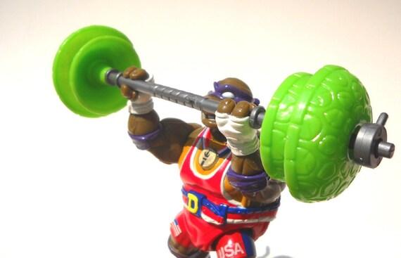 TMNT Olympics Action Figure: Powerlift Don