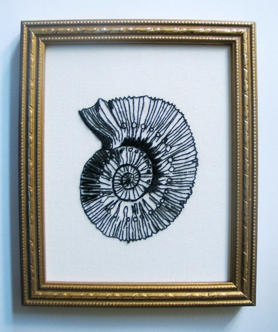 Fossil  Embroidery