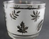Silver Leaf Ice Bucket