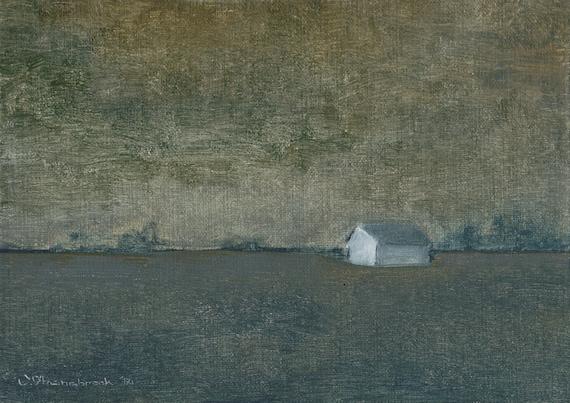 Gray Hour - Original Oil Painting