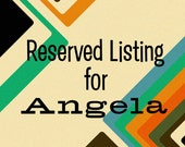 Reserved Listing - A Large Tweed Tote for Angela