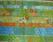 "Vintage Fabric - ""Kamahura"" Warner and Sons 24"" x 37"""
