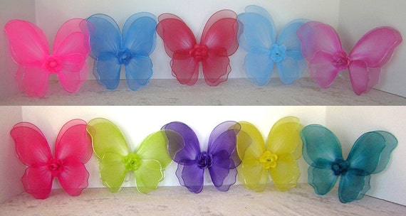 Fairy Wings for Build-a-Party for American Girl, Bitty Baby and Similar dolls and stuffed animals