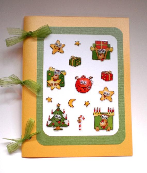 Journal - Wiggley Eyes Christmas Characters