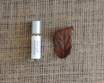 Earl Grey Chamomile Perfume Oil, Roll On Perfume Bergamot Orange Tea Fragrance