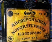 Ouija Board design Cigar Box Purse