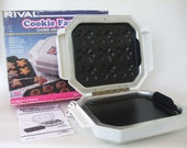 Rival Cookie Maker Factory Electric Baker Small Appliance Used