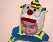 Overall clown hat , 9 - 18  Months
