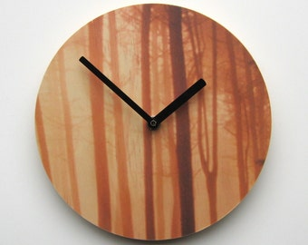 "Objectify ""Wood for Trees""  Wall Clock"