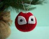 Fox Chuppy Christmas Ornament