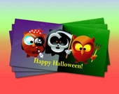 Halloween Treat Bag Toppers (TT106)