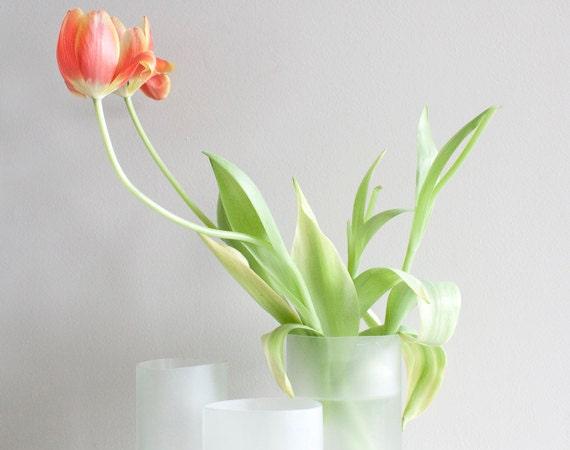Recycled Wine Bottle Vase or Planter - Size Large