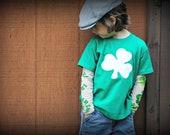Tattoo sleeves kids  t-shirt, luck of the Irish theme