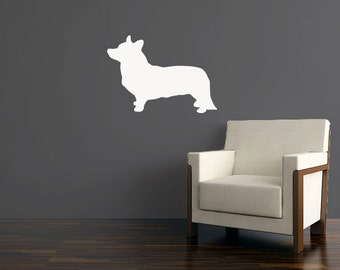 Corgi Wall Decal - Vinyl Sticker