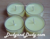 Sample Set of 4 Tealight Soy Candles