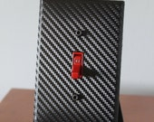 Carbon Fiber Light Switch Plate Outlet Cover