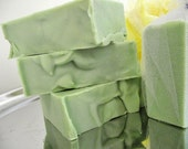 Eucalyptus Peppermint Scented Bar Soap Hand Soap Natural Pumice Soap