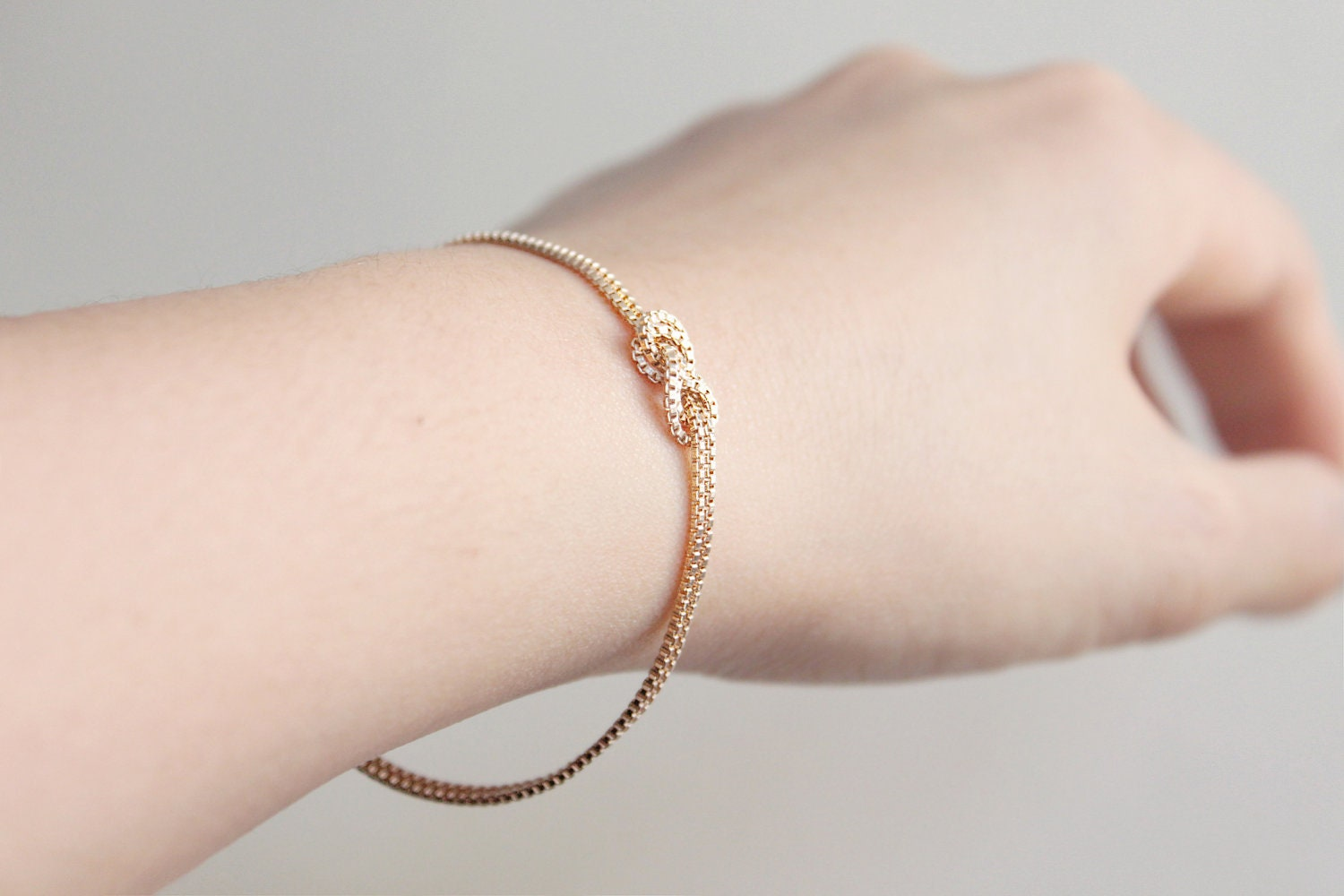 Infinity Love Knot Gold