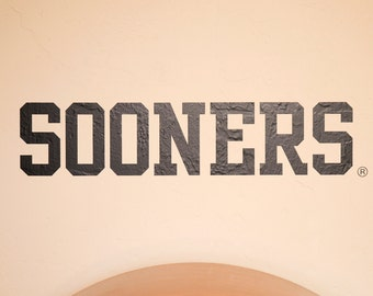 SOONERS - Wall Decal - University of Oklahoma