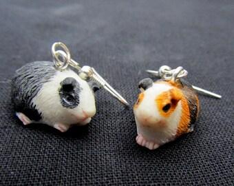 Guinea Pig Earrings Cavies Earring Miniblings Guineapigs