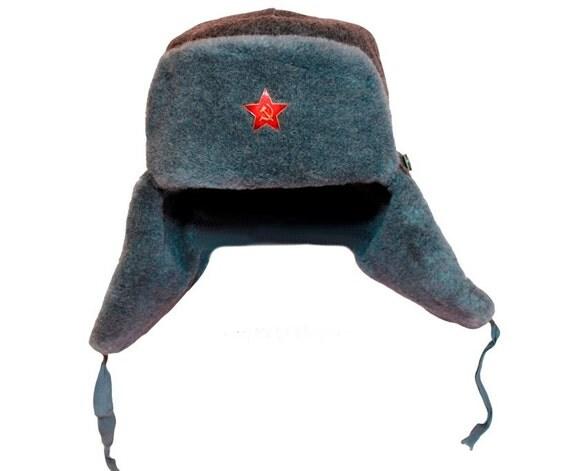 f75879dcab278 ingryda 123 - 80s Russian ushanka winter Steampunk hat Military ...