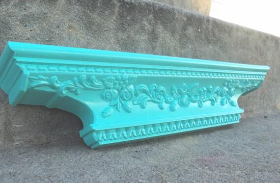 Sweet Blue Green Ledge Shelf