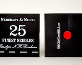 25 Finest Needles by Merchant & Mills