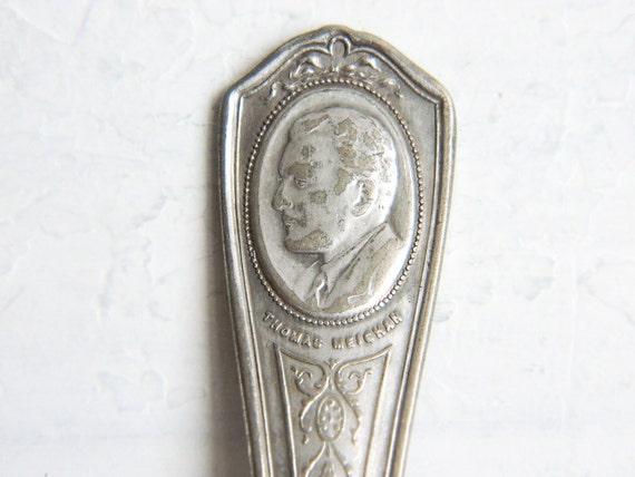 Vintage 1930s Thomas Meighan Spoon by Oneida Actors Series