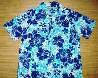 Vintage Aloha Hawaiian Shirt - L -The Hana Shirt Co