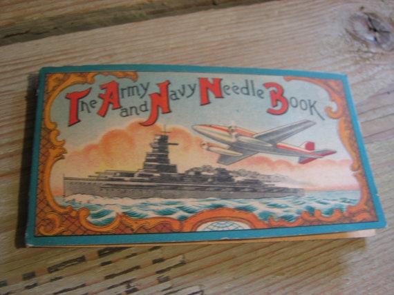 The Army and Navy Needle Book Occupied Japan Military
