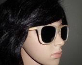 Bamboo wooden handmade sunglasses.