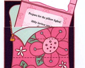 Pajama Party Invitation - Printable PDF