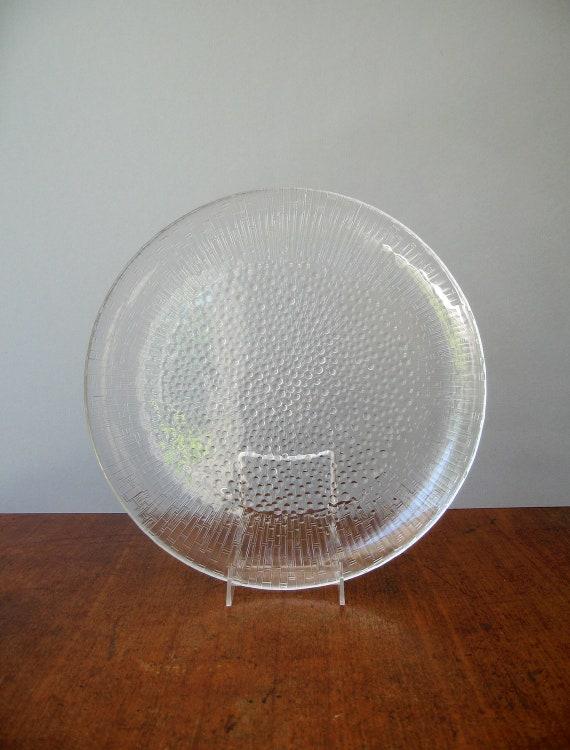 Scandinavian Modern iittala Ultima Thule Serving Platter