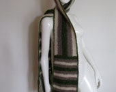RESERVED Vintage Hermes Unisex Knit Scarf with Built-in Hat or Hood