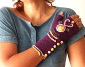 Hand Knit Fingerless Gloves - Urban Hand Warmers