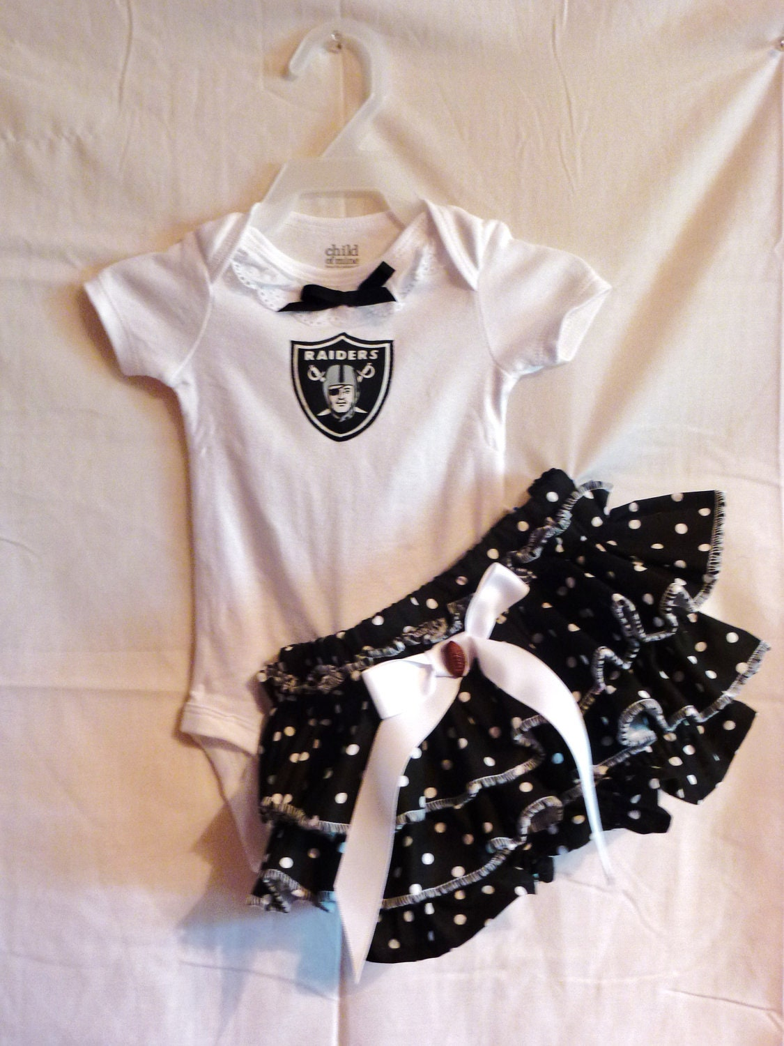 Oakland Raider Baby Clothes Submited
