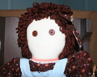SANDRA Brown Eyed Country Girl Doll