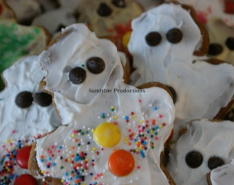 Ghost Gingerbreads -  Greeting Cards