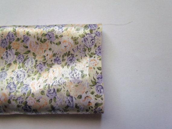 Vintage Floral Fabric - Sateen Portion
