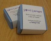 Sweet Lavender Goat's Milk Soap
