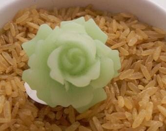 Jade/Mint Bud Rose RIng