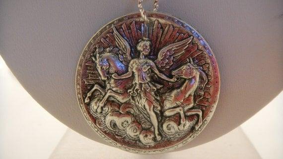 883 - Goddess Athena Necklace