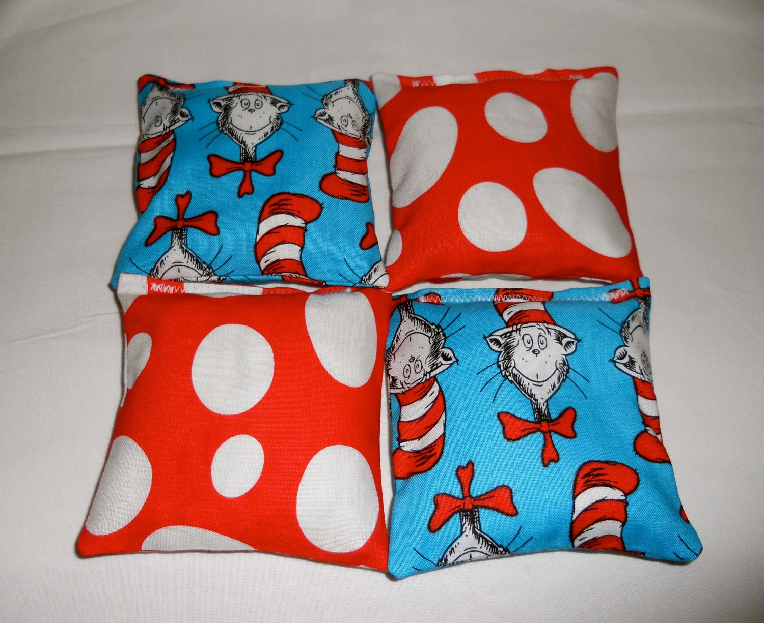 The Cat In The Hat Dr Seuss Bean Bags Party Game Party